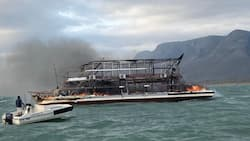 Jozini Dam: German tourist and crew member killed in fire on luxury boat, 1 person missing