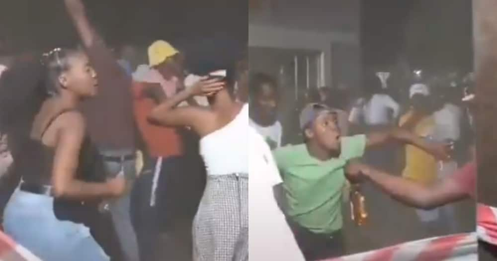 Clip of Locals at a Groove Behaving Bizarrely Leaves Mzansi Buzzing