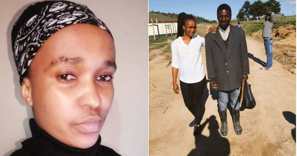 Mzansi is humorously reacting to a beautiful picture of two lovebirds. image: Twitter