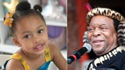 Kairo Forbes honours late King Goodwill Zwelithini in cute post