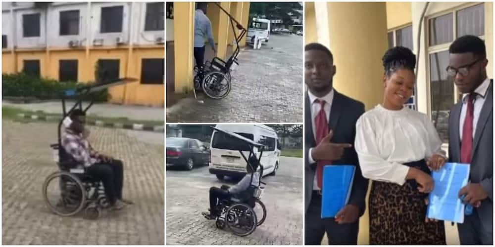 3 UNIPORT graduates create wheelchair that runs on solar and is voice-controlled