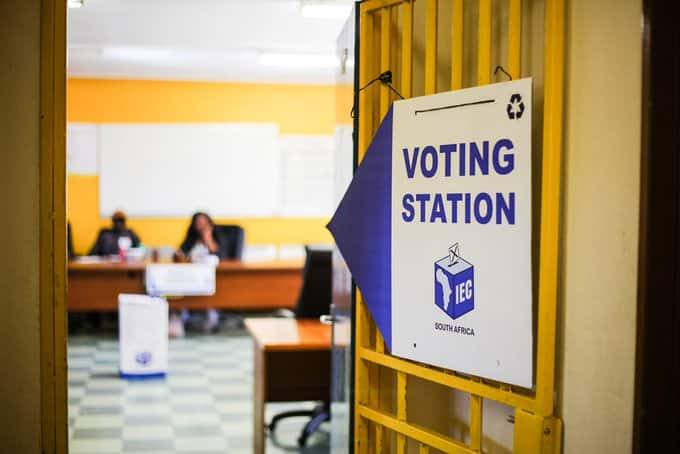 Register to vote in South Africa