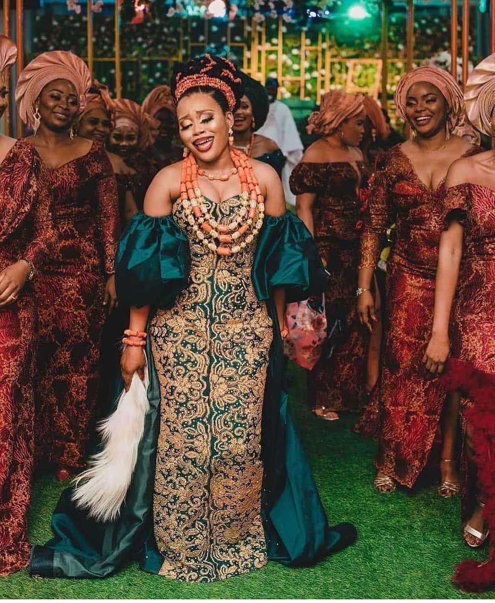 Nigerian traditional wedding dresses Igbo