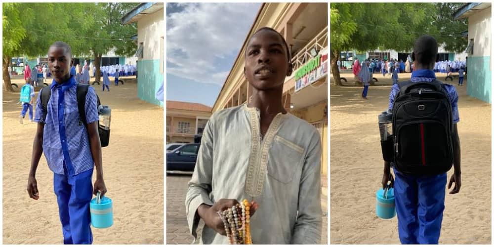 Dream Come True for Young Maiduguri Street Beggar as Nigerians Donate to Help Him Return to School
