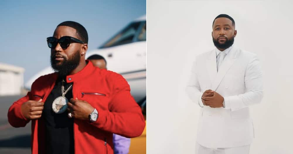 """Cassper Nyovest opens up about his love for boxing ahead of his """"fight"""" with AKA."""