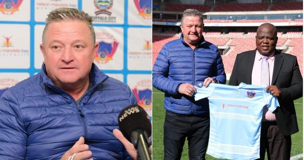 Chippa United, Gavin Hunt, CAF Champions League, Message, Kaizer Chiefs