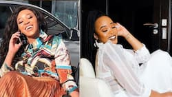 Fact check: No, Sbahle Mpisane does not own a giant black snake