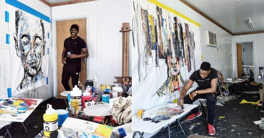 Gifted, Ennock, Mesmerises, Mzansi, Another, Stunning Portrait