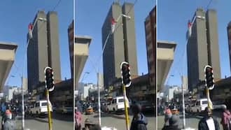 Haibo: Video of reckless man destroying street lamp, SA wants justice
