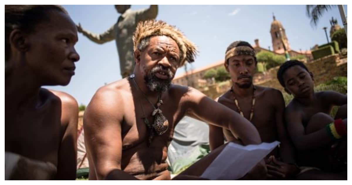 Khoisan king declares that South Africa belongs only to them