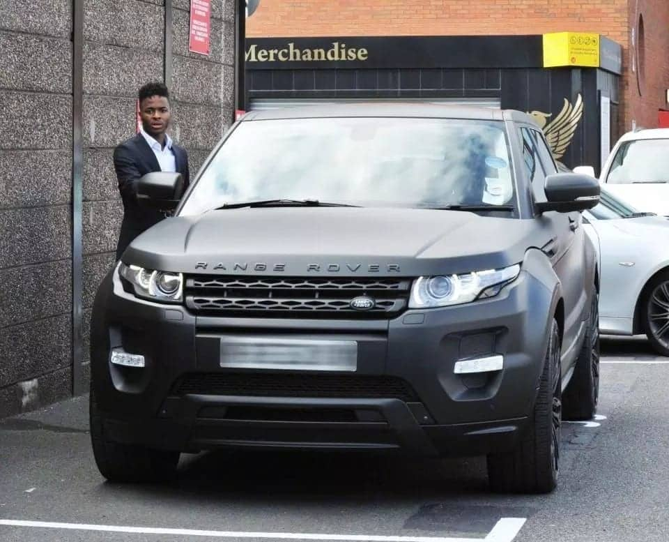 Manchester City star Raheem Sterling drives flashy motors worth over £1 million