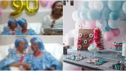 2 Women who have been friends for 80 years celebrate as one turns 90