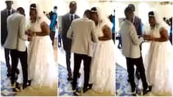Bride cries uncontrollably in church on her wedding day, people wonder what's wrong