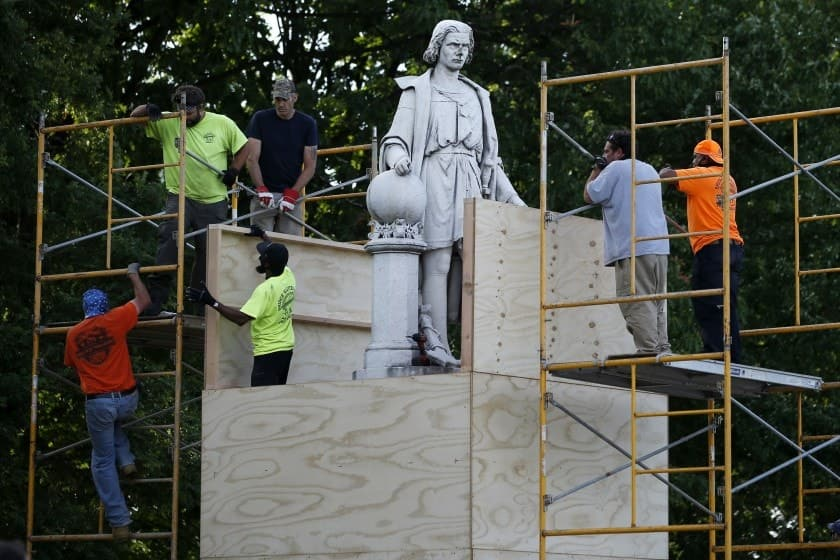 California to remove Columbus statue from state Capitol