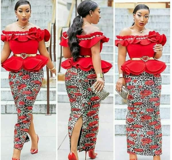 60 African Dresses For Business And Casual Wear,Maxi Dress For Wedding Guest With Sleeves