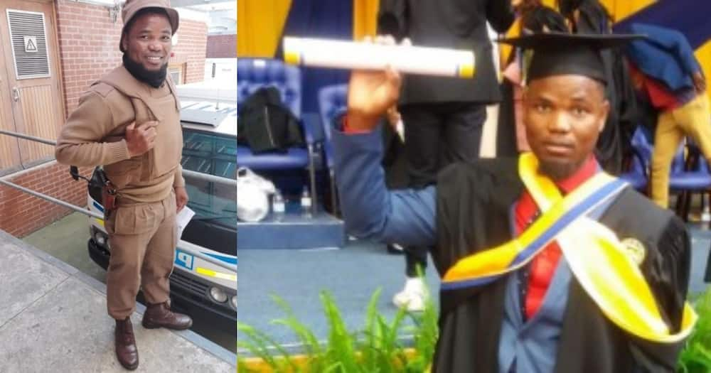 Man with several degrees talks about starting at the bottom, inspires SA
