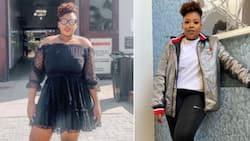 Anele Mdoda drops jaws with fire makeup free, post gym selfie: Sis is looking good
