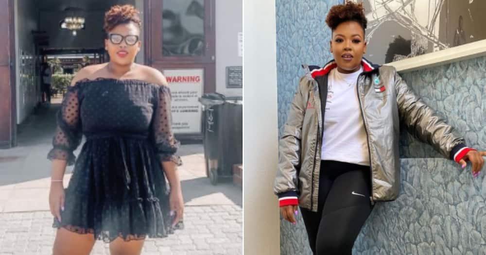 Anele Mdoda, transformation.