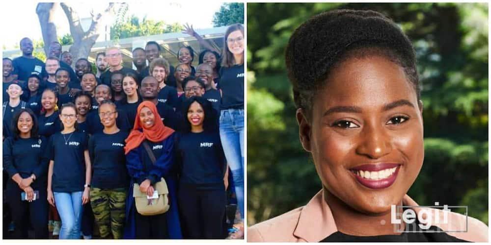 Joy as young Nigerian lady gets Mandela Foundation scholarship in style