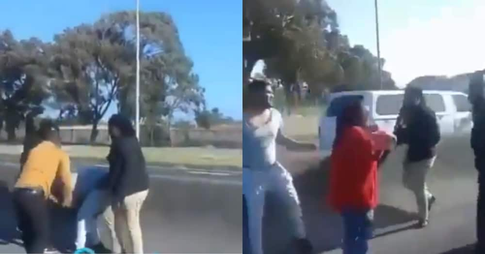 SA motorist gets assaulted by taxi drivers