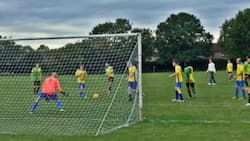 Non-League side take thrashing to new heights after beating rivals 40-0