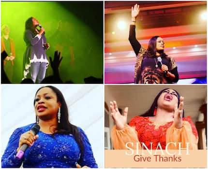 A comprehensive list of all Sinach songs