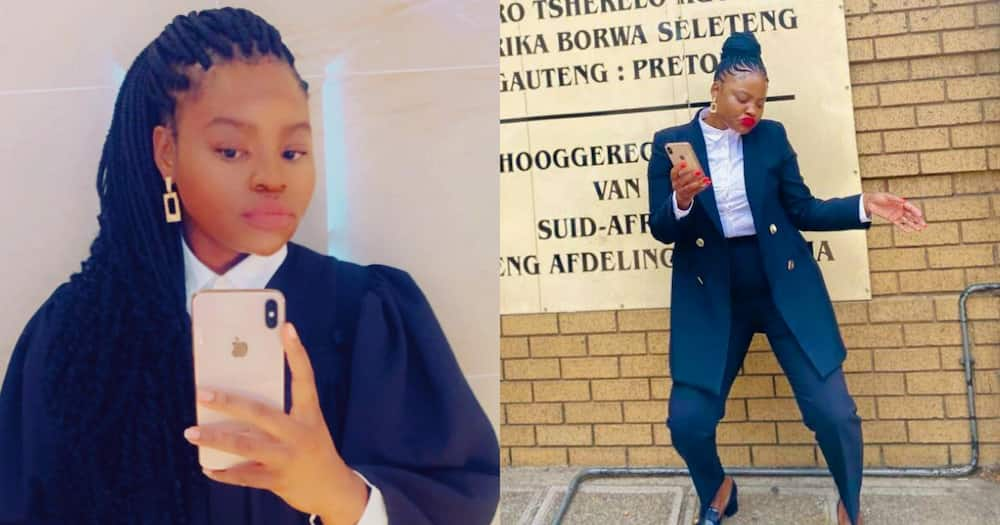 SA woman celebrates appointment as attorney