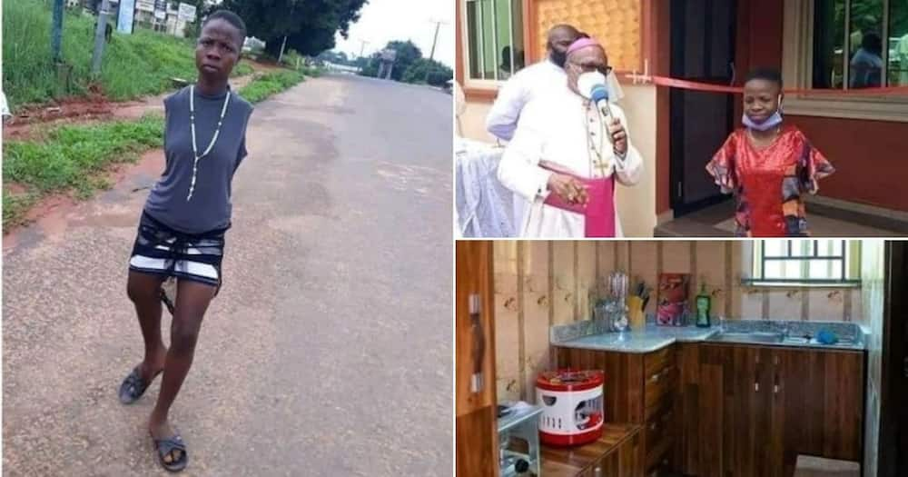 Church gifts armless woman her very own newly furnished bungalow
