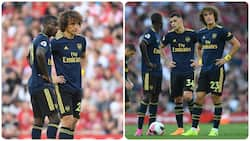 David Luiz, Lacazette, other Arsenal stars break social distancing rule