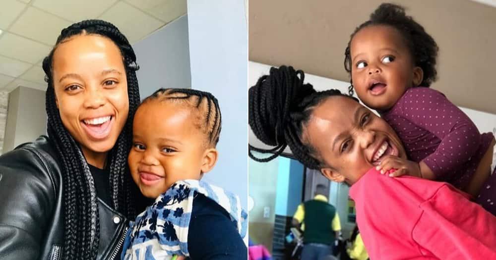 Ntando Duma gives Sbahle 'Zozi' haircut: She's the happiest girl