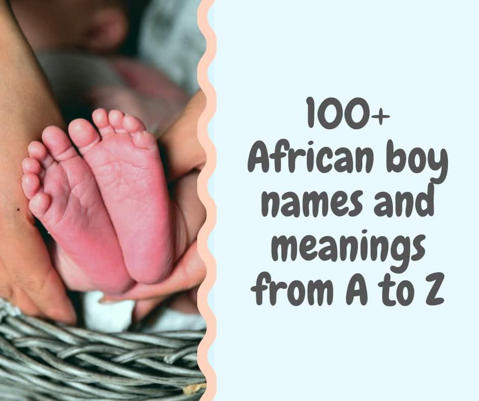 unique african boy names