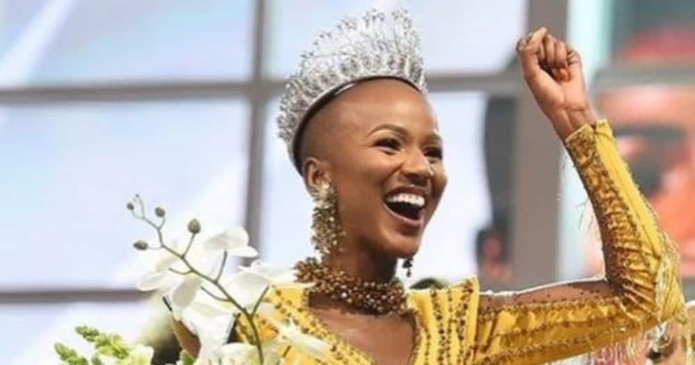 Miss SA has instantly shot to fame and won Mzansi's heart.