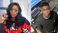 Couple goals: DJ Zinhle pens sweet message on bae Murdah Bongz's birthday, SA reacts