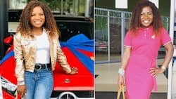 Dang girl: Makhadzi drops jaws with sizzling hot new look
