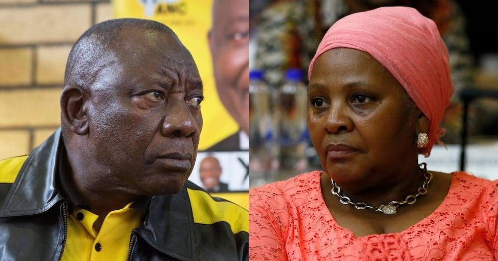 Presidency, hits back, contradiction, Mapisa-Nqakula