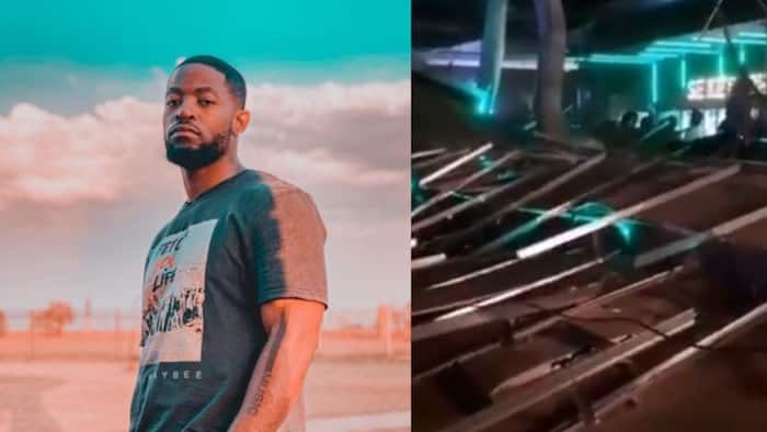 Propaganda nightclub's roof collapses, Prince Kaybee escapes danger