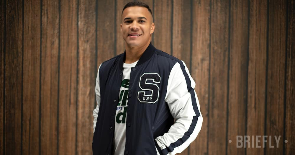 Exclusive, Cheslin Kolbe, Superdry, Family, Rugby, Springboks