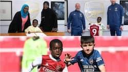 Jubilation at Emirates Stadium as arsenal sign 9-year-old Nigerian star Munir Muhammad Sada from Kaduna