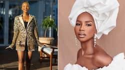 """Brown skin"": Beautiful Miss SA Shadufhadzo Musida wows Mzansi with stunning pictures"