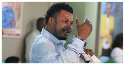 "Social media outrage as ""Apostle"" Nana Poku dons SAPS uniform"