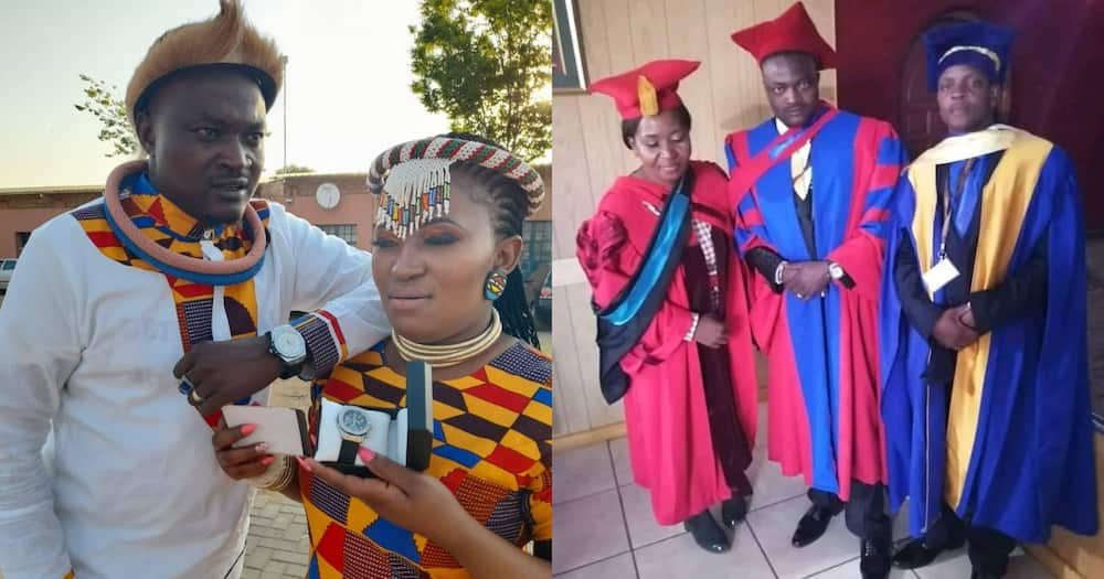 A group of traditional healers graduate and earn formal qualifications