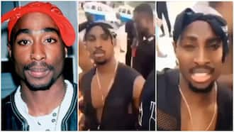 Tupac doppelganger spied in video of random protest in Africa, conspiracies abound