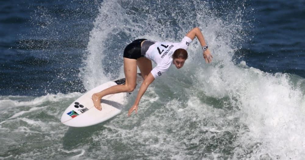 South African, Surfer, Bianca Buitendag, Medal, Tokyo Olympics