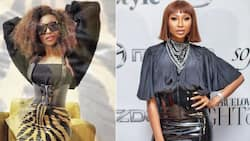 """Enhle Mbali trends for being a snack: """"Electricity is temporary, drip is forever"""""""