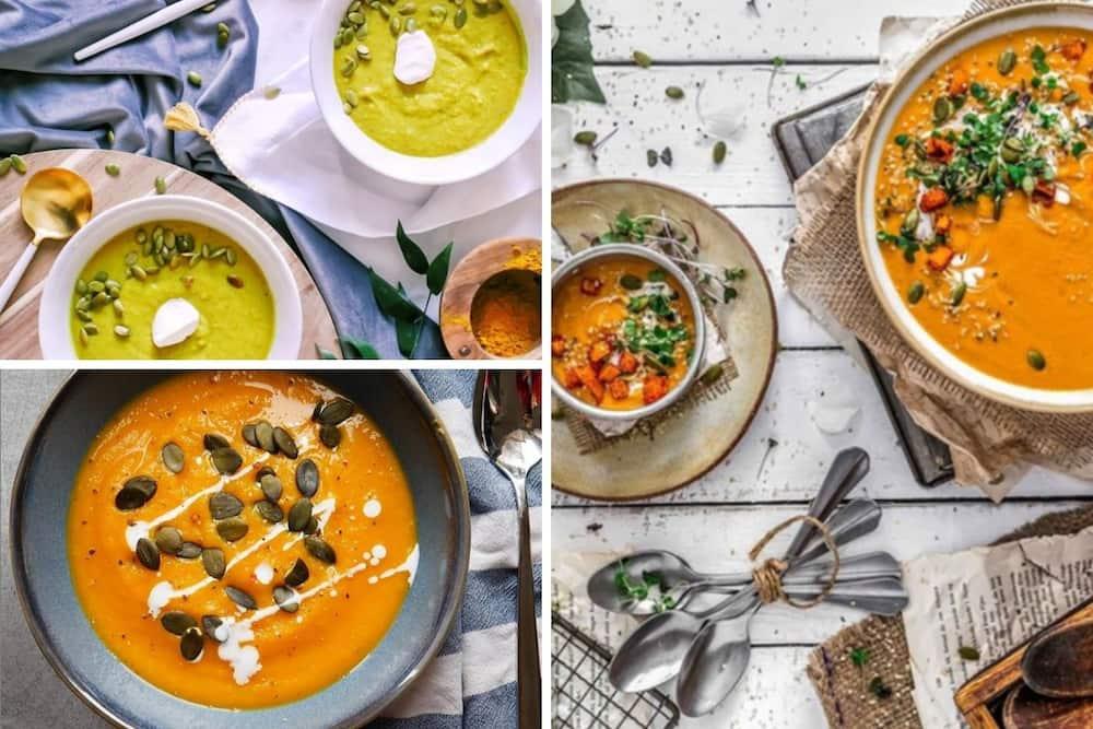 healthy butternut soup