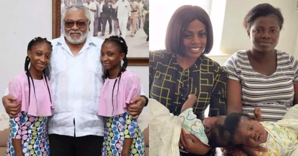 1st conjoined twins separated in Ghana send message to Nana Aba over her recent gesture to save Bansah twins