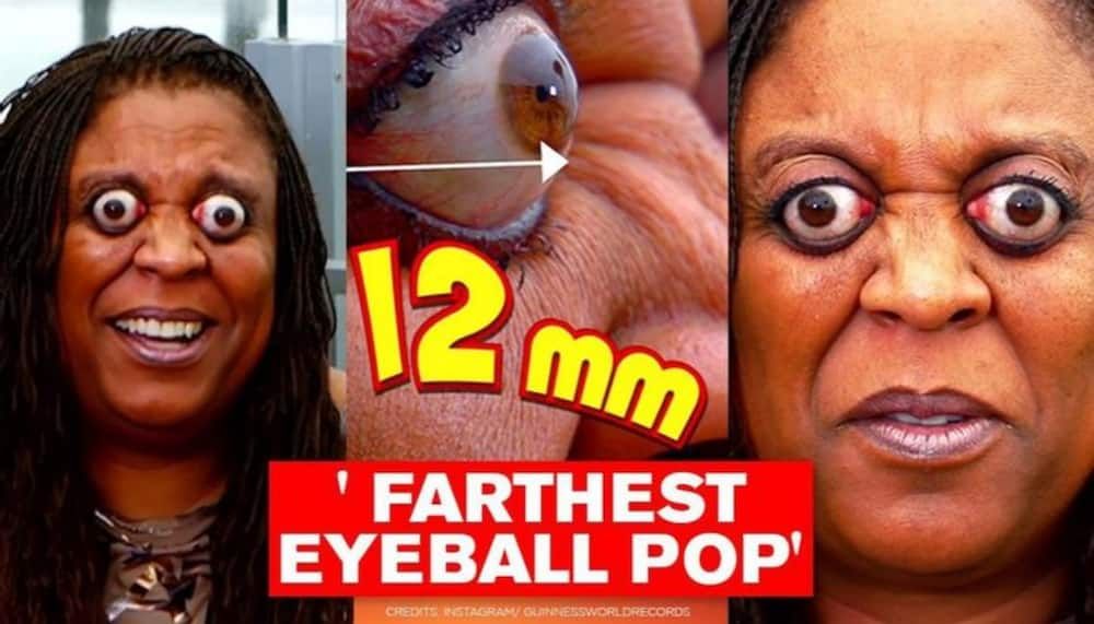 Kim goodman: Interesting life story of the lady with the farthest eye popper