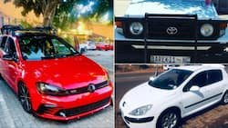 """Mzansi's men trend as they show off their stunning whips: """"The driver vs the vehicle"""""""