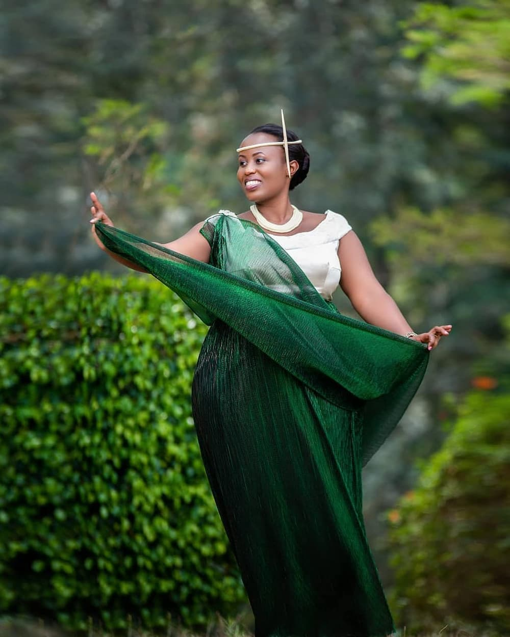 East African traditional wedding dresses