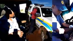 Clip of a visibly drunk SA cop leaves bad taste in Mzansi mouths